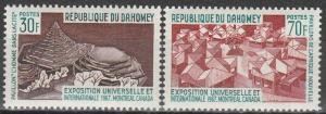 Dahomey #235-6  MNH