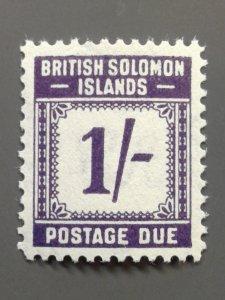 Solomon Islands J7 F-VF MLH.  Scott $ 10.00