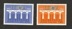 FINLAND -MNH** SET-EUROPA CEPT-1984.