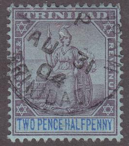 Trinidad 80 Used 1902 Britannia