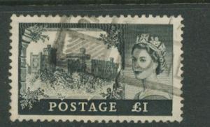 Great Britain QE II  SG 539a  VFU - De La Rue printing