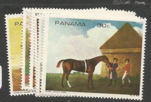 Panama Horse SC 1494, 6 Stamps MNH (5cuc)
