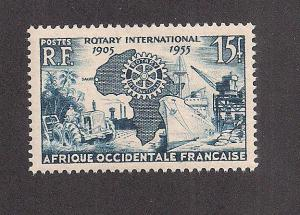 FRENCH WEST AFRICA SC# 64 F-VF MNH 1955