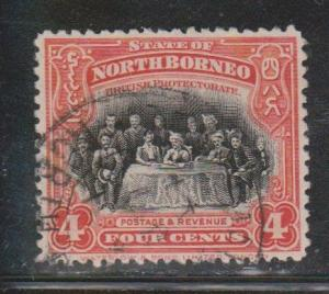 NORTH BORNEO Scott # 170 Used - Assembly Of Parliament