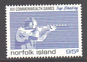 Norfolk Island SG680, 1998 Commonwealth Games 95c MNH**