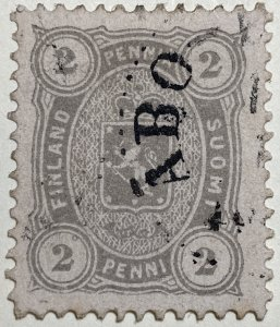 AlexStamps FINLAND #25 VF Used