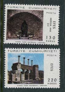 Turkey #1749-50 MNH