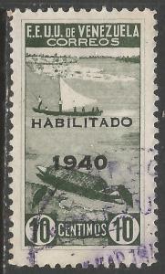 VENEZUELA 377 VFU T560-5
