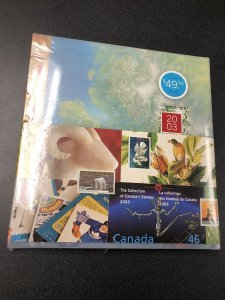 "2003 Canada's Stamps Year Set. ""SEALED """