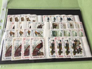 Republic D'Haiti mint never hinged Birds Stamps Sets  Ref 51502