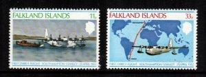 Falkland islands  276 - 277  MNH cat $ 6.75