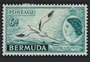 Bermuda White-tailed Tropic Bird Phaeton flavirostris 1v 6d MH SG#143