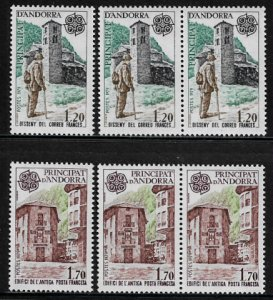 Andorra, French #269-70 MNH Set - Europa - Wholesale
