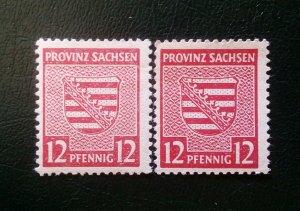 Germany Provinz Sachsen 79Y a+b