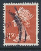 GB QE II Machin - SG Y1800   Used  £1.50 Red