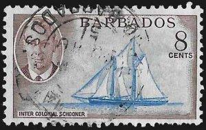 Barbados SC 221 * Intercolonial Schooner * Used * 1950