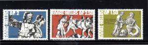 GREECE #1053-1056  1972  GREEK MYTHOLOGY      MINT  VF NH  O.G