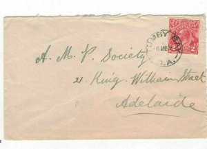 APH1431) Australia 1931 2d Red KGV Die III Small Cover