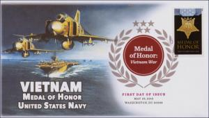 2015, Medal of Honor, Vietnam, Navy, DCP, FDC, 15-130