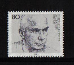 Germany  1988  MNH  Jakob Kaiser  complete