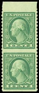 538a, Mint XF NH Imperforate between pair Cat $125.00+  - Stuart Katz