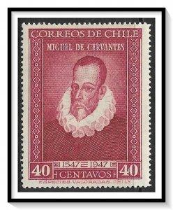 Chile #250 Cervantes MH