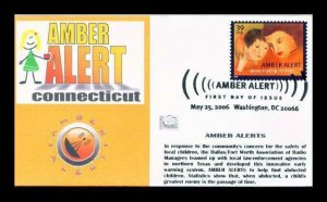 Tom's Cachets 4031 Amber Alert Connecticut