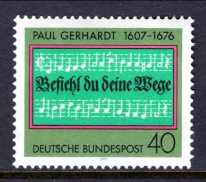Germany 1215 Music MNH VF