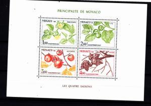 Monaco souv. sheet 1315 mnh