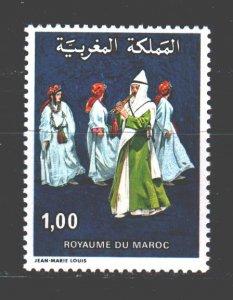 Morocco. 1978. 889. Folk dance. MNH.