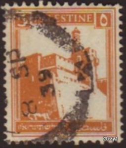 Palestine 1927 Sc #67 SG #93 Citadel of Jerusalem Used
