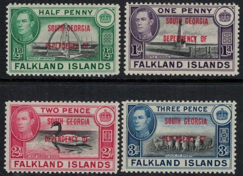 Falkland Is. #3L1-4*  CV $2.00