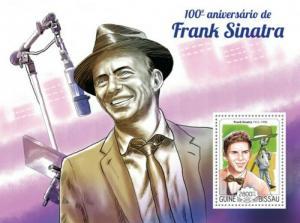 Guinea-Bissau MNH S/S Frank Sinatra 2015