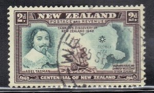 NEW ZEALAND SC# 232 **USED**  2p  1940    SEE SCAN