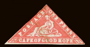 Cape of Good Hope Scott 7a Gibbons 13a Used Stamp