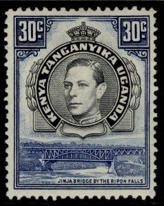 KENYA UGANDA TANGANYIKA GVI SG141b, 30c black & dull violet-blue, M MINT.