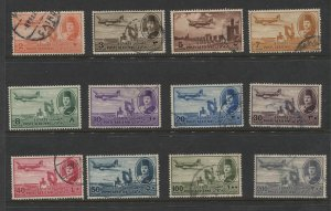 STAMP STATION PERTH - Egypt #C39-C50 Full Set Air post Issue Used