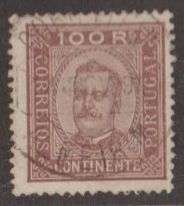Portugal Scott #75 Stamp - Used Single