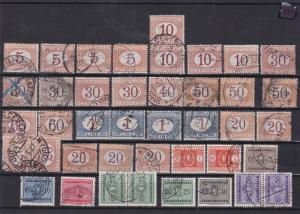 italy postage due stamps ref 11826