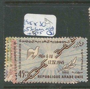 SAR 1958 SG 653-6 MNH (4cvn)