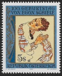 Austria #1504-1505 MNH CV$1.80