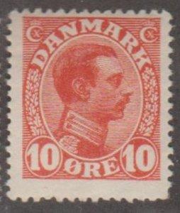 Denmark Scott #100 Stamp - Mint NH Single
