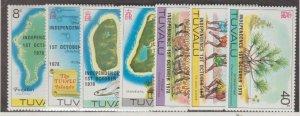 Tuvalu Scott #85-91 Stamps - Mint NH Set