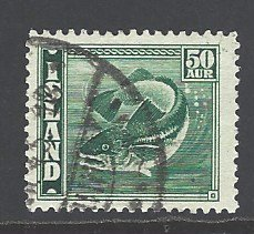 Iceland Sc # 227 used (RS)