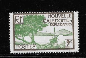 New Caledonia #137 MH Single
