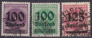 Germany #253-5 F-VF Used CV $5.65