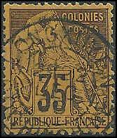 French Colonies  - 56 - Used - SCV-30.00