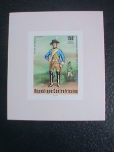 ​CENTRAL AFRICAN STAMP:1976-SC#C144 BI-CENTENARY OF AMERICAN REVOLUTION S/S #5