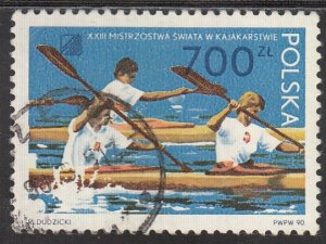 Poland, Sc 2980, CTO-NH, 1990, World Kayaking Championship