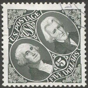 US 1994 Sc 2592  $5  Washington & Jackson  Used  VF